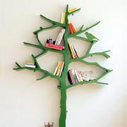 小树型书架装修图片
