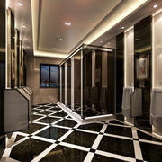 酒楼后现代风格卫生间装饰