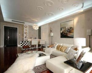小型别墅都市风格客厅装修效果图