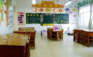 活泼可爱的小学教室墙上布置图片
