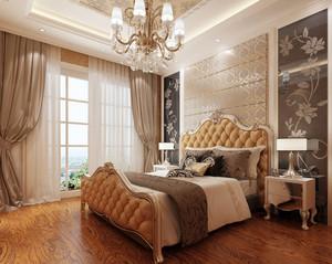 欧式风格卧室地板装饰