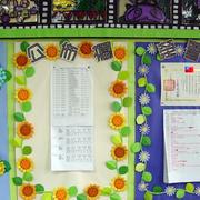 教室公告栏布置图片