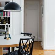 经济实用型小复式楼餐厅圆桌