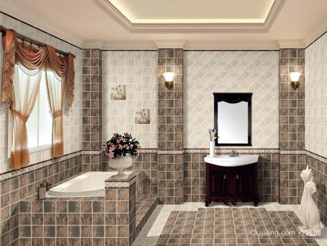 两室一厅地中海风格整体卫浴装修效果图