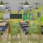 学校美术教室装饰