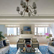 现代客厅简约吊顶