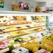 小型水果超市货架装饰