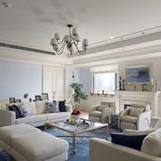 现代客厅沙发茶几布置