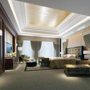 卧室吊顶造型图