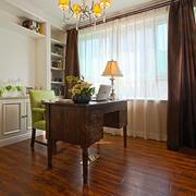小书房木地板装修