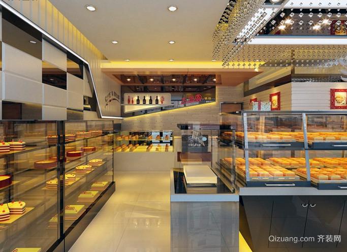 都市精致的蛋糕店设计效果图