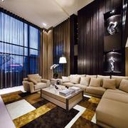 别墅沙发效果图片