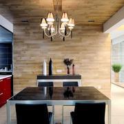 简约实用型复式楼现代餐厅家装设计