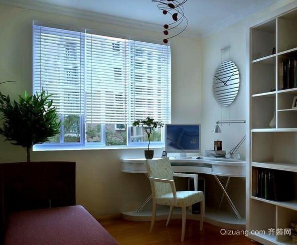 三居室中式风格小书房装修效果图