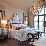 欧式奢华豪宅卧室装饰