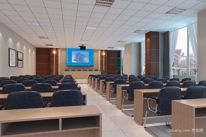都市大型会议室吊顶装修效果图