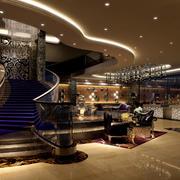 大堂楼梯设计图片