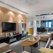 现代超级简约大气型客厅欧式家居