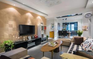小复式楼精美实用型客厅装饰