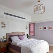 现代卧室紫色浪漫