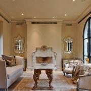 美式豪宅客厅装饰效果图