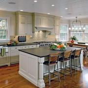 唯美的厨房吊顶图