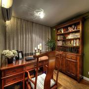 传统风格小书房装修