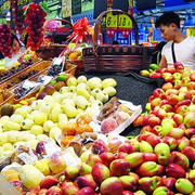 超市简约风格水果店装修