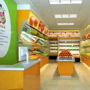 小型水果店吧台设计