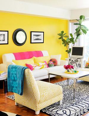 简约风格欧式客厅天格地板装修效果图