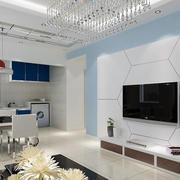 简约风格电视背景墙