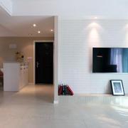 现代超级简约大气型家装客厅