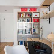 现代超级简约大气型书房设计