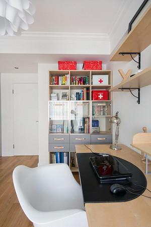 现代精装之小复式楼书房