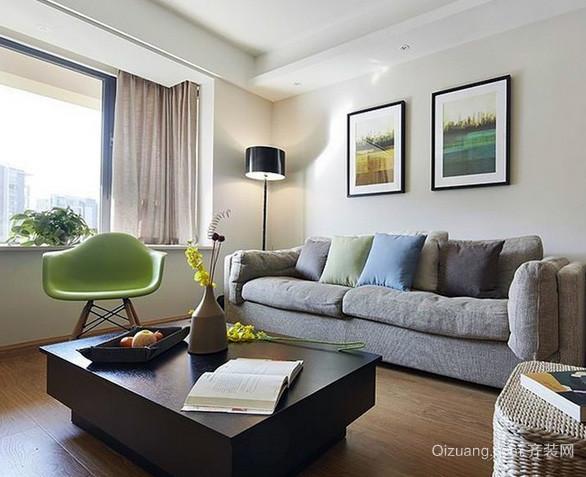 各式各样简约风格客厅茶几装饰效果图