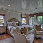 美式卧室地板装饰