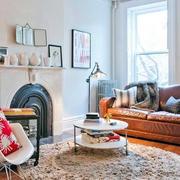 北欧风格小型客厅地板设计