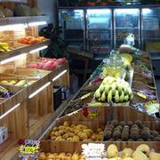 简约小型水果店装修