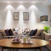 经济实用型小复式楼客厅沙发