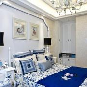 宜家风格床头背景墙