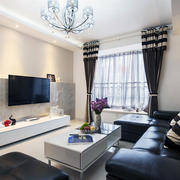 小复式楼精美实用型客厅沙发
