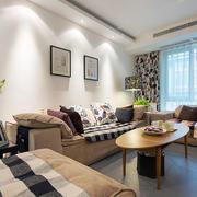 现代超级简约大气型家装森系沙发