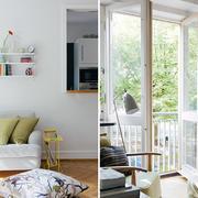 小复式楼精美实用型客厅门窗