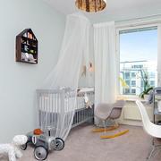 室内婴儿房装饰图片