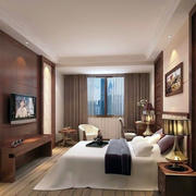 雅致温馨宾馆卧室