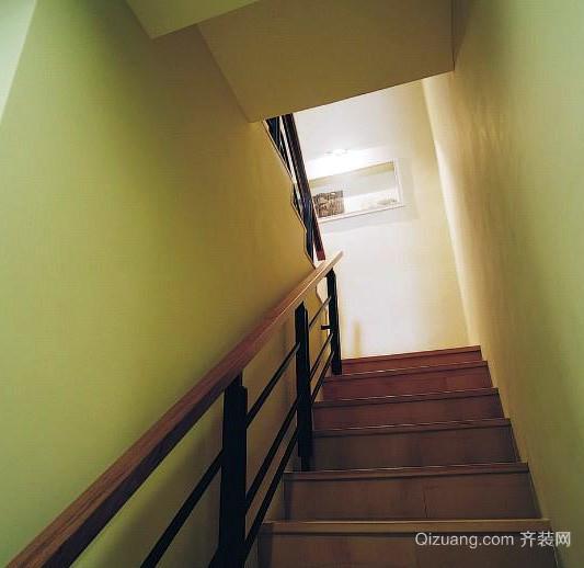 各式各样简约风格封闭式楼梯间装修效果图