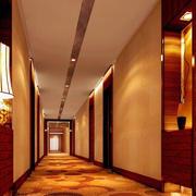宾馆走廊温馨装潢