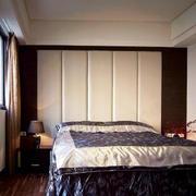 后现代简约风格软包床头背景墙