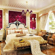 欧式奢华床饰装饰效果图
