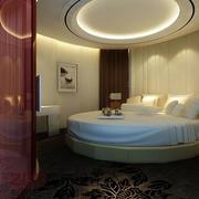 温馨宾馆卧室榻榻米床